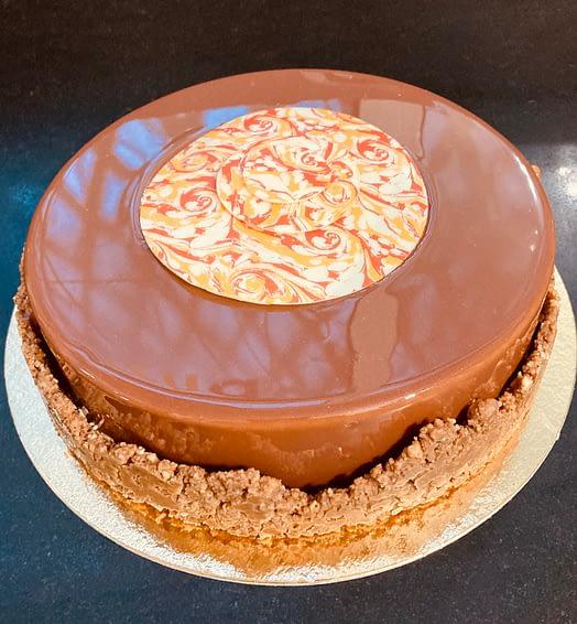 Tarte Cheesecake Spéculos