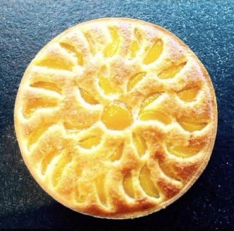 Tarte abricots Amandine